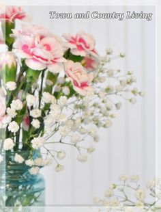 DIY:  How to arrange fresh flowers.