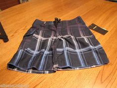 Hurley Toddler youth 3 T board swim trunks shorts NEW legacy navy surf skate NEW