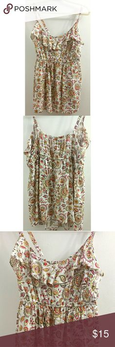 Torrid Floral Babydoll Top New With Tags This is a brand new babydoll top. It is size 1XL. torrid Tops Camisoles