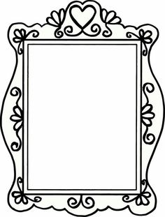 Hand drawn doodles of a variety of picture frames 리그 рисунки Page Borders, Borders And Frames, Doodle Borders, Friends Picture Frame, Picture Frames, Art For Kids, Crafts For Kids, Diy Crafts, Picture Frame Template