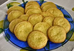 Best of Long Island and Central Florida: Orange & Lemon Wafer Cookies