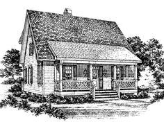Eplans Cottage House Plan - Azalea from The Southern Living