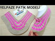 Knitting Basics: Easy two skewers women crochet socks styles beginner Yelpaze patik modeli yapımı / Knitting Basics, Knitting Blogs, Easy Knitting, Knitting Socks, Loom Knitting, Knitting Patterns, Crochet Patterns, Crochet Slippers, Knit Crochet