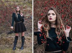 Get this look: http://lb.nu/look/8451849  More looks by Marcelline: http://lb.nu/madame_marcelline  Items in this look:  H&M Sweater, H&M Skirt, E Carla Choker   #grunge #romantic #street #autumn #october #sweater #outfit #fashion #knitwear