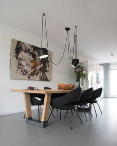 Aesthetics, Dining Table, Interior Design, House, Furniture, Home Decor, Houses, Nest Design, Decoration Home