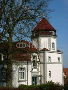Villa im Neobarock Baustil in Oerlinghausen im Teutoburger Wald bei Bielefeld in Ostwestfalen-Lippe