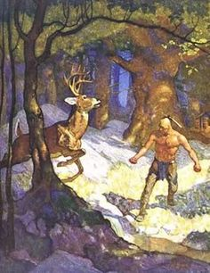 NC Wyeth Illustrations | Visions of Adventure: N.C. Wyeth and the Brandywine Artists