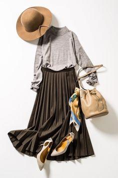 人気スタイリスト指名買い!楠 玲子さんと川上 さやかさんが選ぶ秋の〝it〟アイテム|Today's Pick Up|ユニクロ Modern Hijab Fashion, Hijab Fashion Inspiration, Fashion Photography Inspiration, Muslim Fashion, Modest Fashion, Korean Fashion, Fashion Outfits, Womens Fashion, Madona