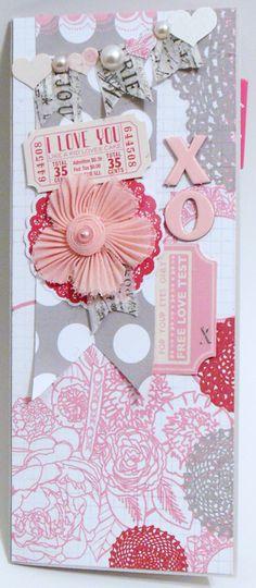 Secret Crush Valentine Card - Scrapbook.com