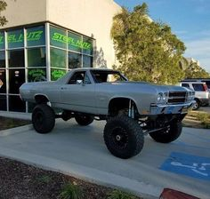 Lifted 72 El Camino