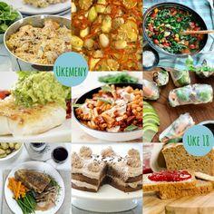 Skalldyrkabaret Chorizo, Gluten Free Recipes, Guacamole, Free Food, Curry, Tacos, Mexican, Dishes, Ethnic Recipes