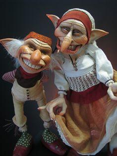 "I wouldn't trust these two ""Jasper & Jennie Hamrack"" by Lorell Lehman"