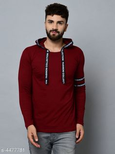 Tshirts Modern Fancy Men's Tshirts Fabric: Cotton Sleeve Length: Long Sleeves Pattern: Solid Multipack: 1 Sizes: S (Chest Size: 36 in Length Size: 27 in)  XL (Chest Size: 42 in Length Size: 30 in)  L (Chest Size: 40 in Length Size: 29 in)  M (Chest Size: 38 in Length Size: 28 in) Country of Origin: India Sizes Available: S, M, L, XL   Catalog Rating: ★4 (391)  Catalog Name: Essential Men Tshirts CatalogID_646277 C70-SC1205 Code: 992-4477781-576