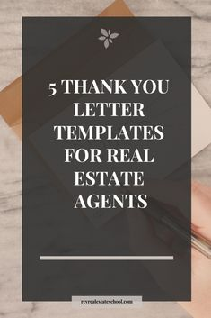5 Thank You Letter Samples for Real Estate Agents — Rev Real Estate School - 5 Thank You Letter Samples for Real Estate Agents — Rev Real Estate School - Real Estate Gifts, Real Estate Buyers, Real Estate Quotes, Real Estate Humor, Real Estate Leads, Real Estate Broker, Real Estate School, Real Estate Career, Real Estate Business Cards