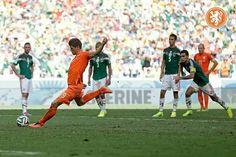 Nederland - Mexico 2-1