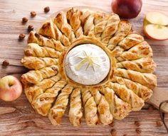 tarte soleil au camembert rôti : Recette de tarte soleil au camembert rôti - Marmiton