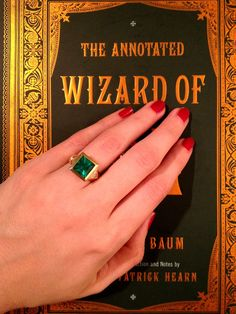 Wizard of Oz Engagement Ring - Imgur