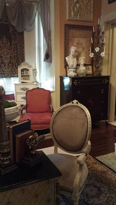 Eye For Design: Decorating With Antique Needlepoint/Tapestry Firescreens