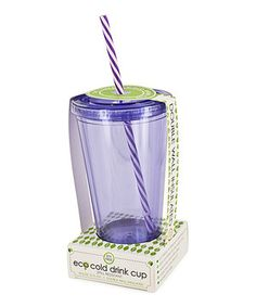Smart Planet Purple Swirl 16-Oz. Eco Cold Drink Cup by Smart Planet #zulily #zulilyfinds