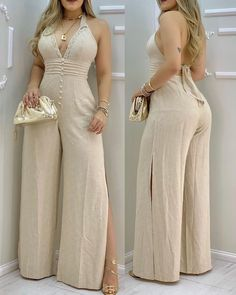 Trend Fashion, Womens Fashion, Grad Dresses, Sleeve Styles, Jumpsuits For Women, Lace Trim, Backless, How To Wear, Outfits
