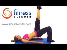 Fitness Blender Butt  Thigh Workout - 20 Minute Bodyweight Workout - http://www.thehowto.info/fitness-blender-butt-thigh-workout-20-minute-bodyweight-workout/