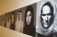 Mohammed Kanoo's Portraits Of Celebrities Wearing Arab Clothing