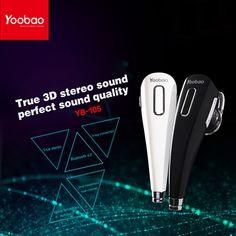 Original Yoobao YBL-105 Bluetooth Headset HeadphoneS Earphone for iphone 7 For Samsung note 7 for xiaomi redmi note 3 pro phones