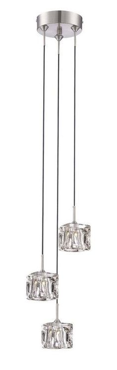 The Lite Source Ls 14633led Polished Steel Direct For Contemporary Pendant Lightspendant Lightingmodern Contemporaryice