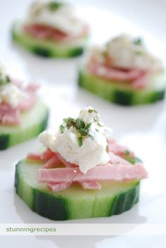Ham and Herb Cheese Appetizer