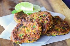 The eccentric Cook: Zucchini Parmesan Fritters Veggie Side Dishes, Vegetable Dishes, Side Dish Recipes, Vegetable Recipes, Healthy Eating Recipes, Real Food Recipes, Vegetarian Recipes, Cooking Recipes, Yummy Food