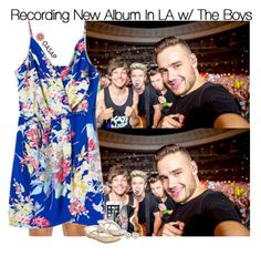 """""""Recording New Album w/ The Boys"""" by fangirl-1d ❤ liked on Polyvore featuring Rip Curl, Ilia and Monsoon"""