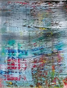 Gerhard Richter » Art » Paintings » Abstracts » Abstract Painting » 712