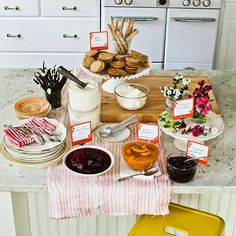 I LOVE the idea of an ice cream social party!  Lots of fun ideas!