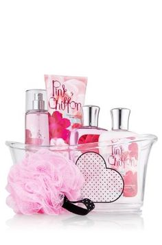 Bath and Body Works Pink Chiffon: this is one of my all-time favorites by them!!! I always feel feminine and pretty when I wear it!!!