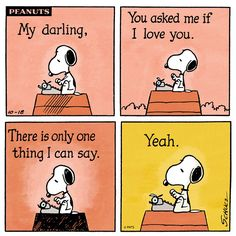 Snoopy in Love (INFP)