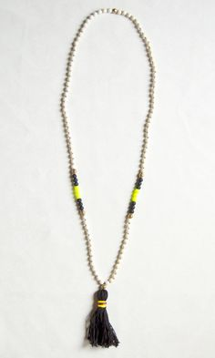 DIY Dupe: Anthropologie Rambla Necklace - by Yeah, I made it!