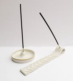 Ceramic Incense Burner | Elevate the art of burning incense with an artful foundation. ... | Incense Holders