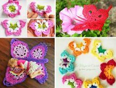 Crochet Butterflies Pattern Lots Of Ideas