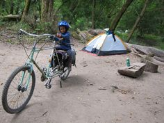Adorable! - Camping In Big Sur   Xtracycle, Inc.