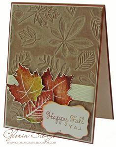 Scraps of Life: WorldWin Papers Blog - Fall Cards
