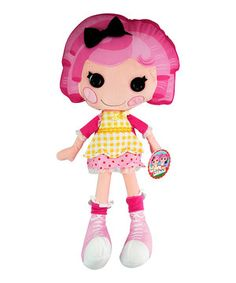 This Lalaloopsy Crumbs Plush Pillowtime Pal by Disney is perfect! #zulilyfinds