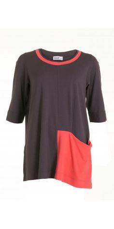 Nook Truffle Colour Block Jersey Top, £79.00 + delivery | idaretobe