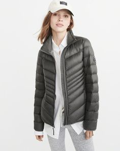Lightweight Down-Filled Packable Puffer