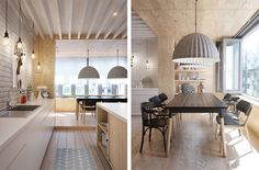 Saint-Petersburg Apartment in Russia by Int2 - DECOmyplace