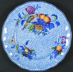 Discontinued Spode China Patterns | Pattern: Spode's George III-Blue by SPODE CHINA [SP SPGB] Pattern #: 2 ...