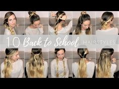Back to School Hairstyle | Acconciature per a scuola