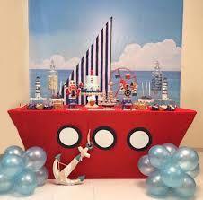 Resultado de imagem para decoracion nautica para fiestas