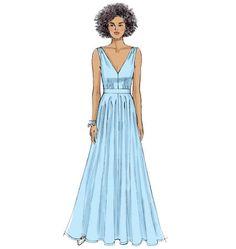 Vogue Patterns 9053 Misses' Dress sewing pattern