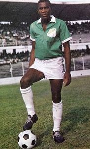Jorge Ramirez of Deportivo Cali of Colombia in 1966.
