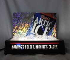 Vintage Coors Arctic Ice Light Up Display Beer Sign